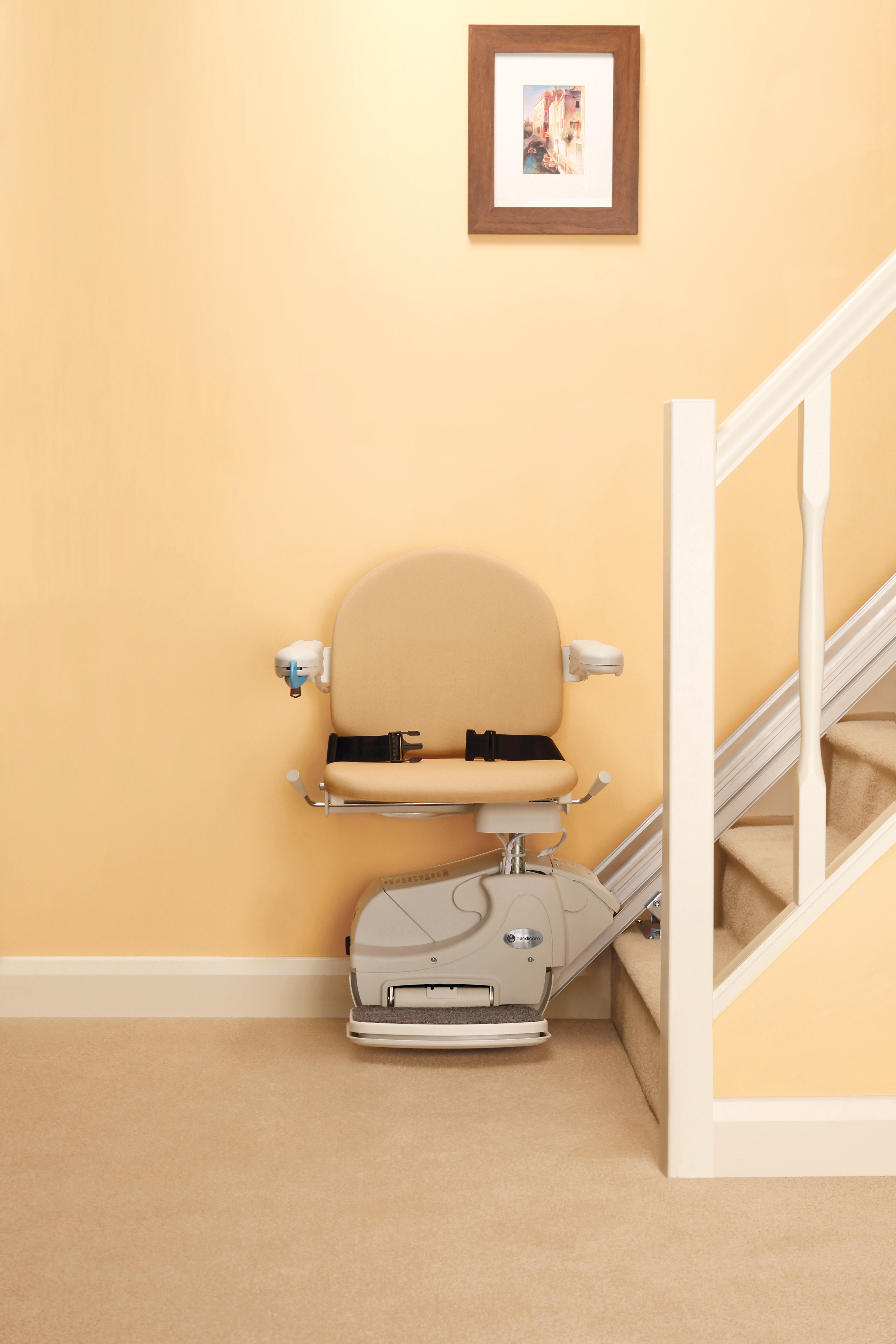 Legacy Elegance Stair Lift Brown