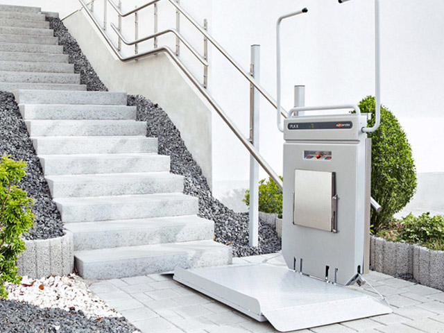 Indoor/Outdoor Wheelchair Stair Lifts - Home Lift Pros