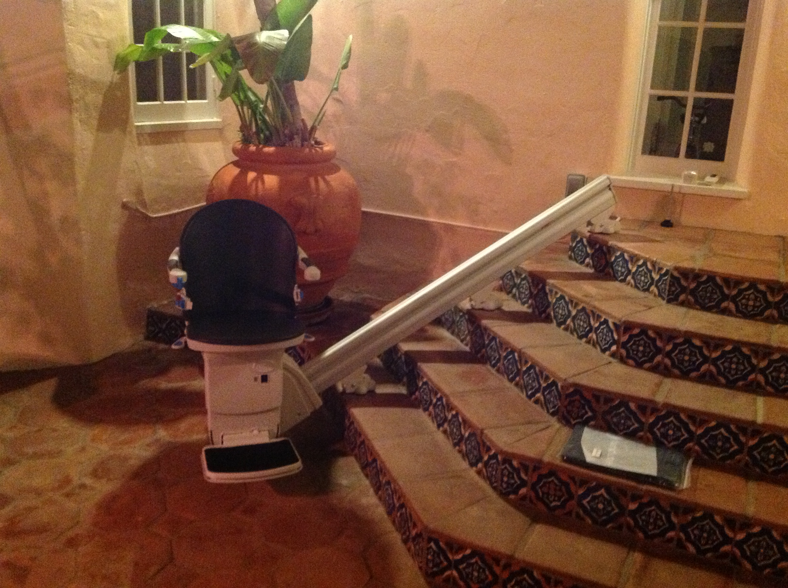 Outdoor Straight StairLift