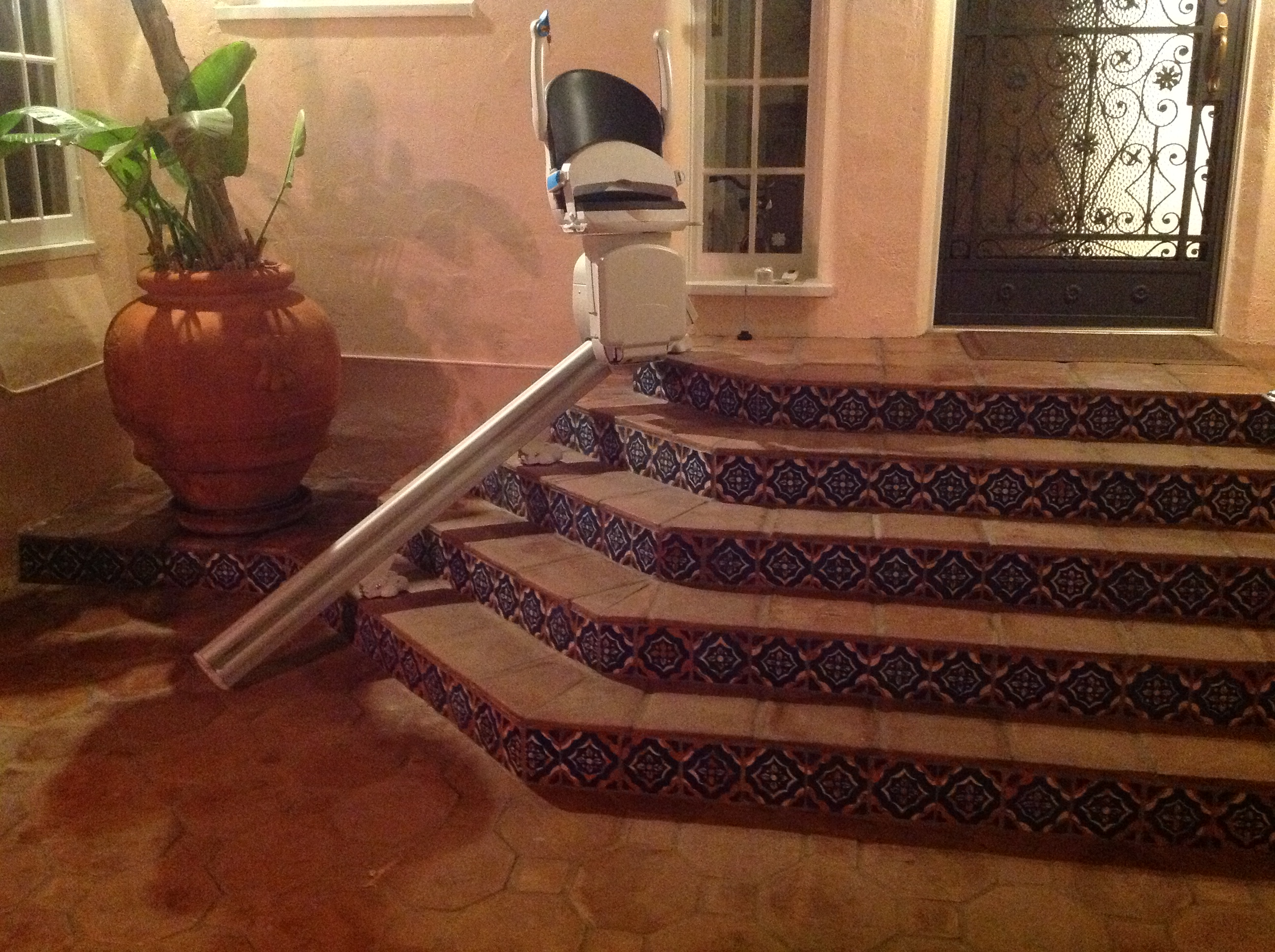Outdoor Straight Stair Lifts