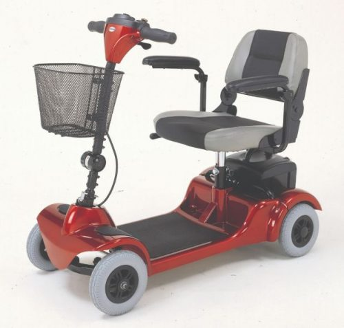 mini-coupe-4-wheel- travel mobility scooter