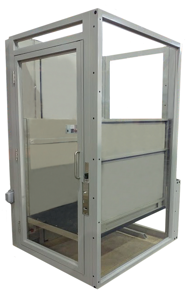 vista enclosed wheelchair lift