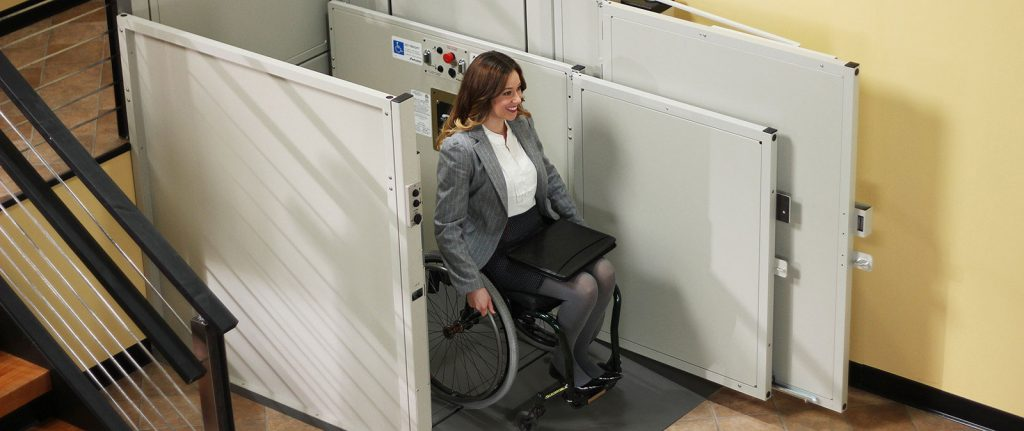 commercial wheelchair lift vpl