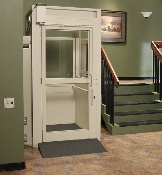 enclosed wheelchair lift