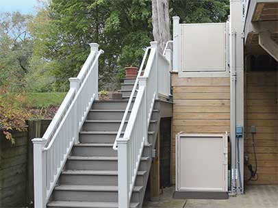 residential wheelchair lift for stairs